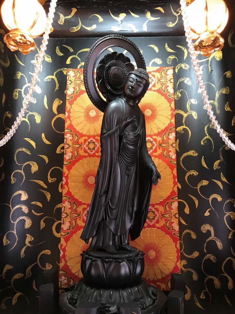 秋田內陸線/日本鐵道/秋田/日本東北/阿仁合駅/專念寺如來佛像