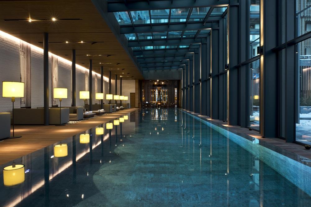 泳池/SPA/Chedi Andermatt Hotel/瑞士
