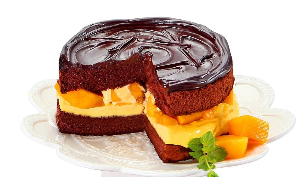 鮮芒果礦石蛋糕/BLACK As Chocolate