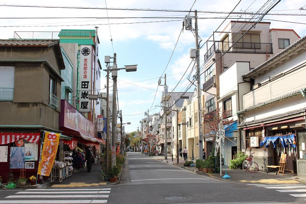 舊街街道/東京/日本