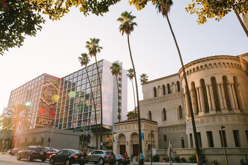 飯店外觀/The Line Hotel/洛杉磯/美國