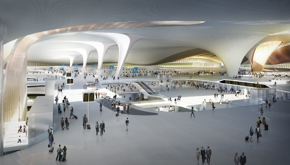Beijing New Airport Terminal Building/北京大興機場/北京/中國