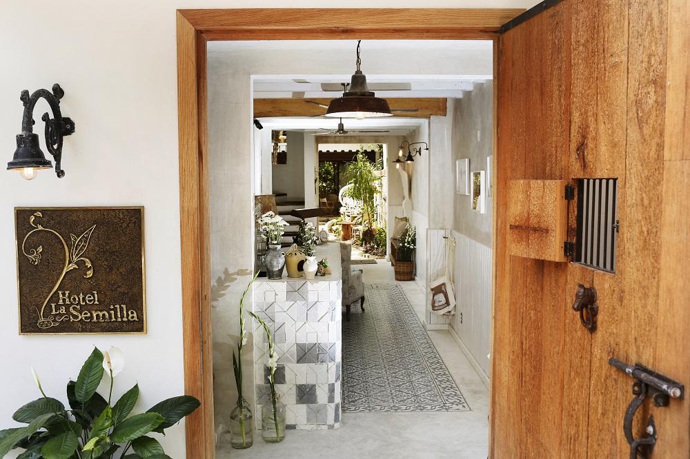 飯店門口/Hotel La Semilla/墨西哥