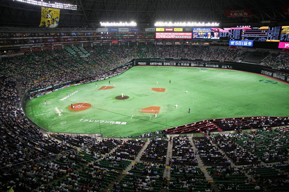 福岡巨蛋/Fukuoka Yahuoku! Dome/軟銀鷹
