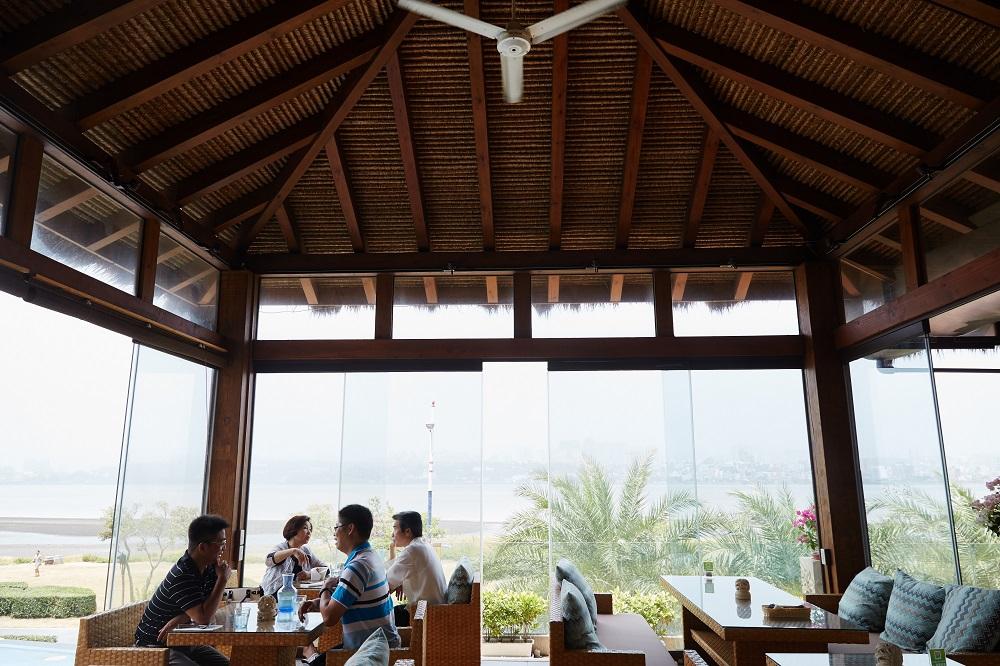 峇里島風靠枕/水灣BALI景觀餐廳/新北八里/臺灣