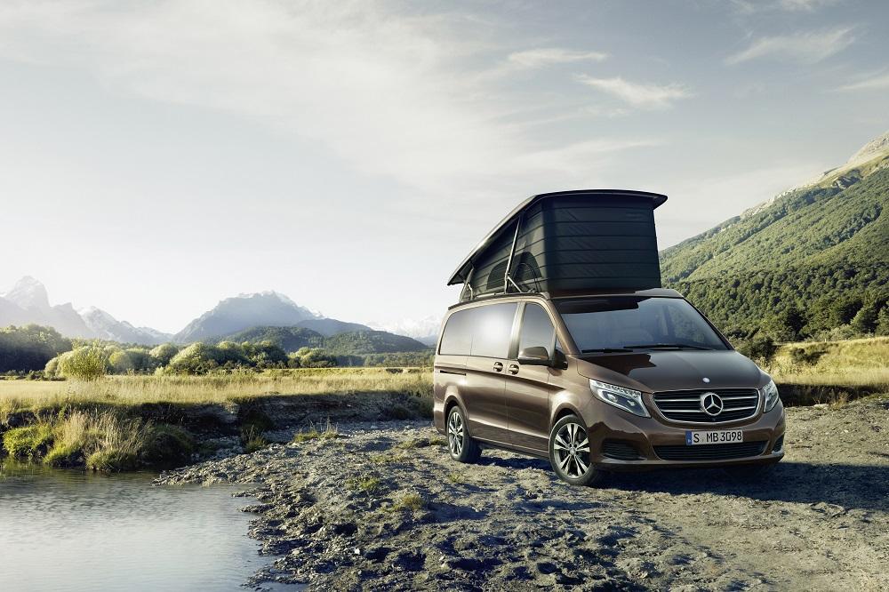 閣樓臥舖/內部/Mercedes-Benz Marco Polo露營車/露營車款
