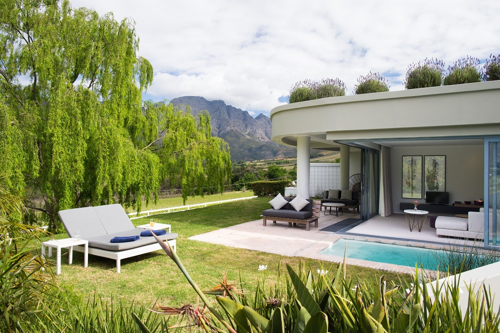 飯店外觀/Mont Rochelle/開普敦/南非