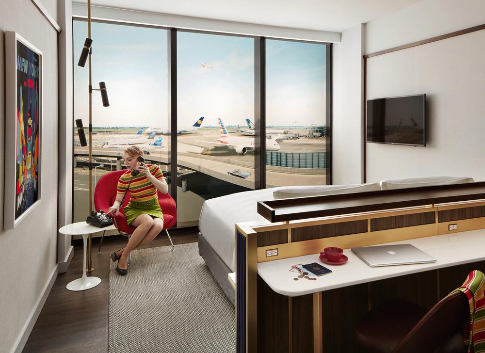 TWA Hotel/紐約/甘迺迪機場/環球航空/芬蘭建築大師/Eero Saarinen