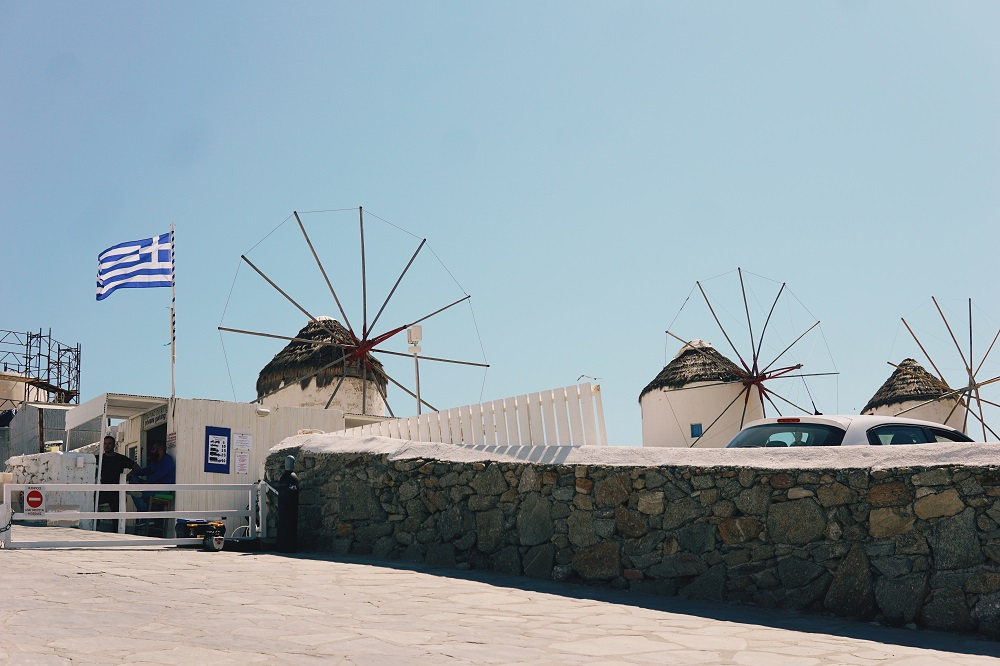 風車群/荷拉小鎮/米克諾斯/希臘