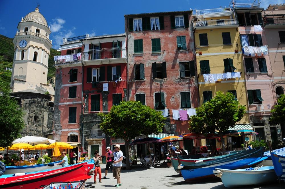 歐洲/2019年打卡人氣旅遊地點/十大熱門方式/義大利/五漁村