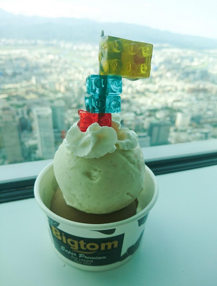 台北101/89F觀景台/Bigtom 冰淇淋