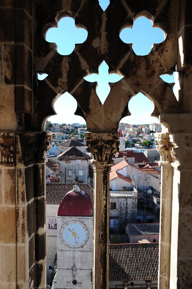 特羅吉爾/中世紀小鎮/歐洲小鎮旅行/克羅埃西亞