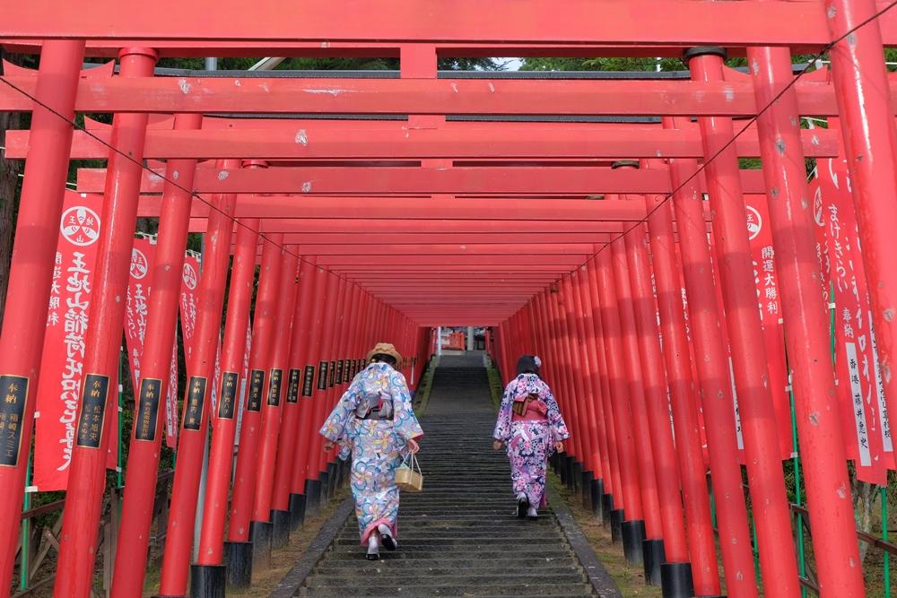 丹波篠山/城下町/稻荷神社/日本