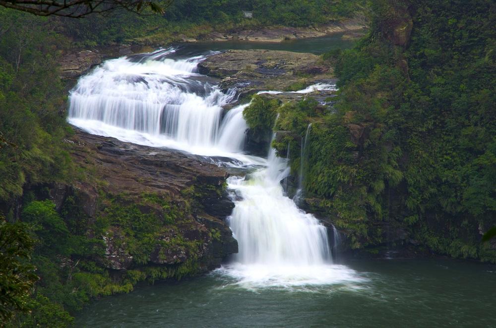 Kanbire 瀑布/西表島/沖繩/日本