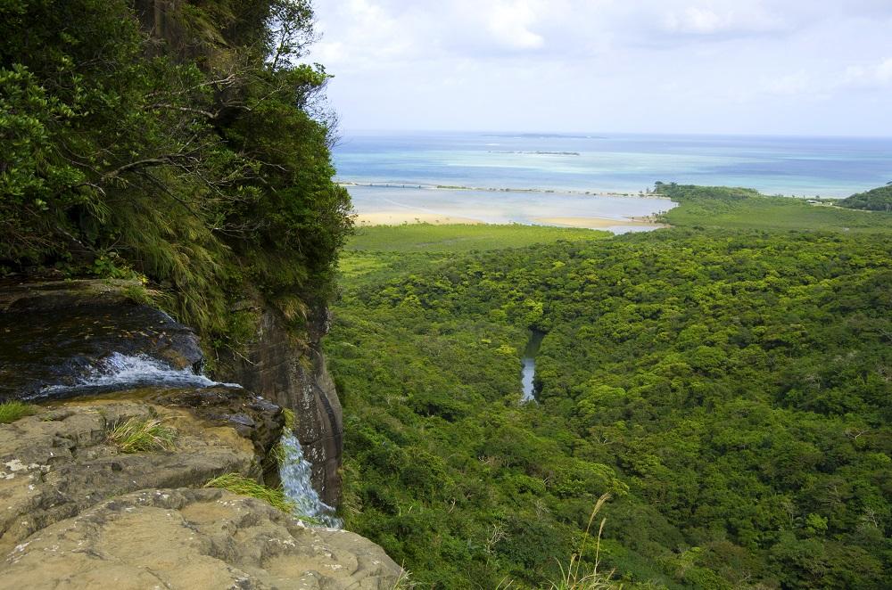 Pinaisara 瀑布/西表島/沖繩/日本