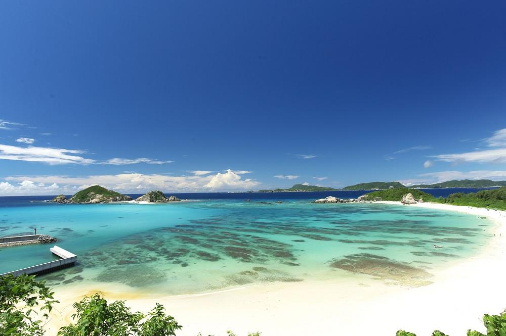 慶良間藍/慶良間諸島/沖繩/日本