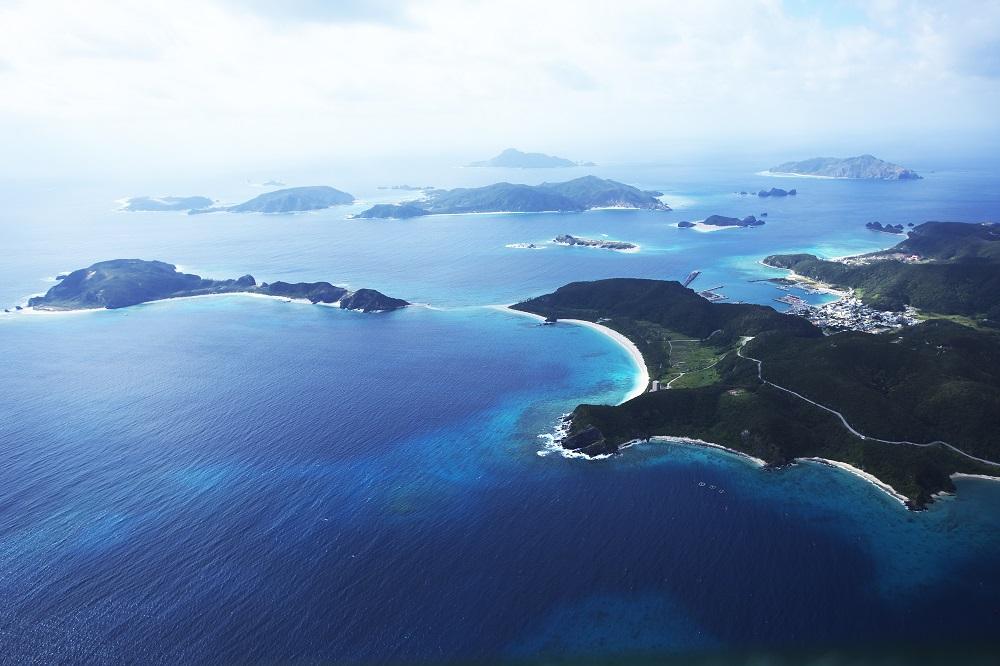 無人島渡し/座間味島/沖繩/日本