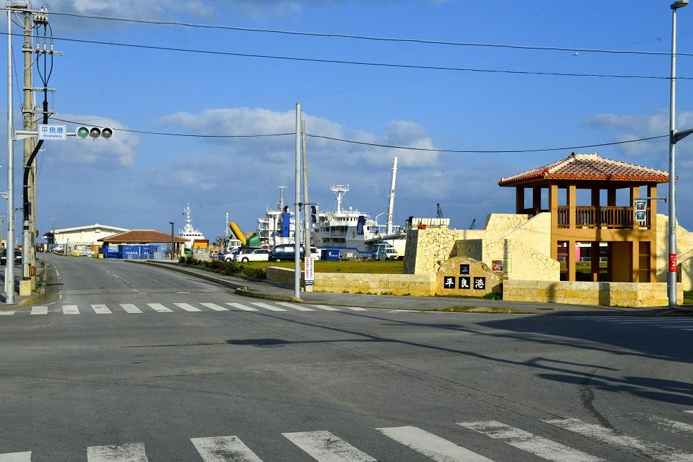 平良港/宮古島/沖繩/日本