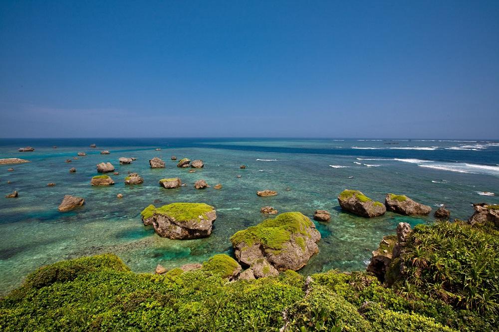 東平安名岬(ひがしへんなざき)/宮古島/沖繩/日本