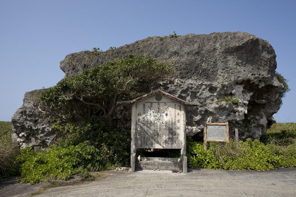下地島巨石/下地島/沖繩/日本