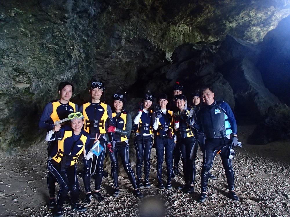 青之洞窟/石垣島/沖繩/日本d