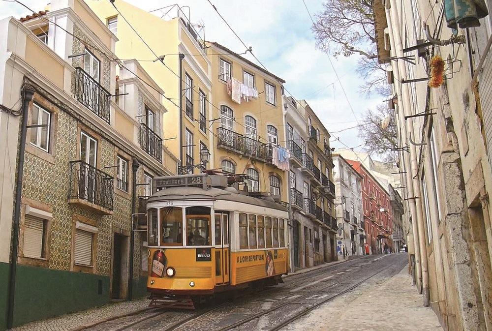 阿法國際旅遊/黃色叮叮車/葡式風景/波爾圖/里斯本/葡萄牙/歐洲