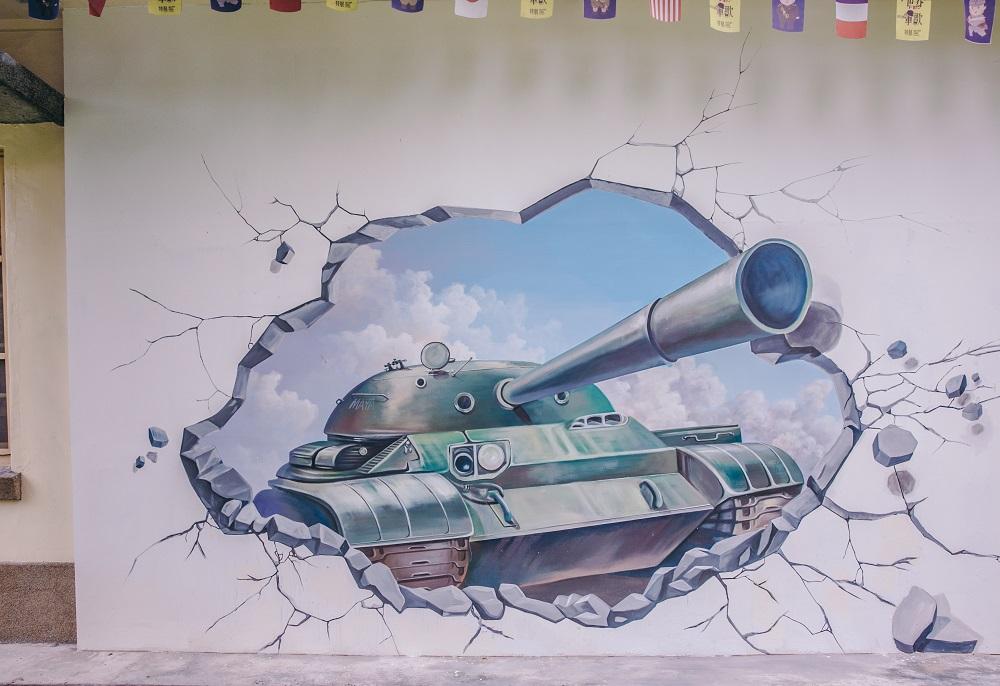 坦克/塗鴉/軍歌館/勝利新村/日軍官舍群/屏東