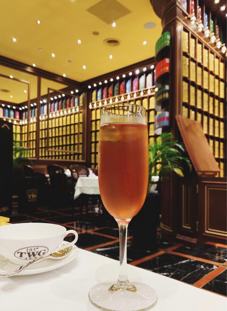 TWG Tea夏日手工冰茶/台北101TWG Tea