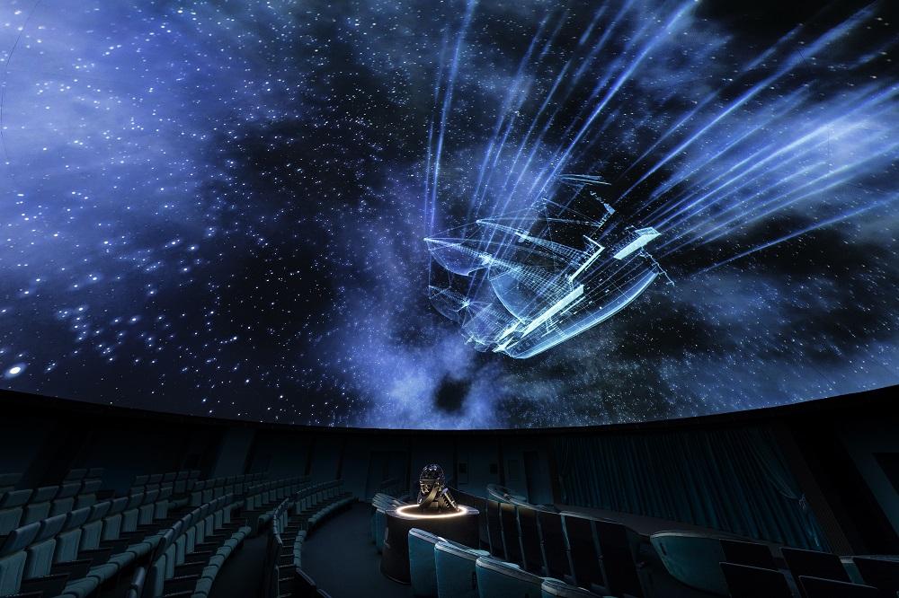 Konica Minolta Planetarium Tokyo/8K投影/圓形劇場/北極光/流星群