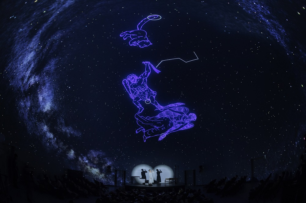 Konica Minolta Planetarium Tokyo/360度投影技術/銀河