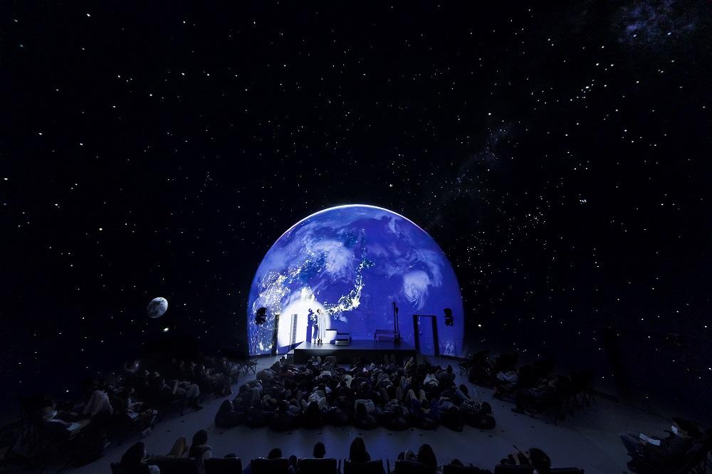 Konica Minolta Planetarium Tokyo/8K投影/圓形劇場