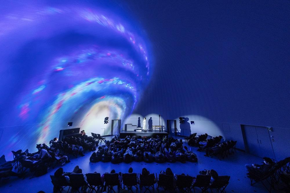 Konica Minolta Planetarium Tokyo/360度投影/銀河/8K投影