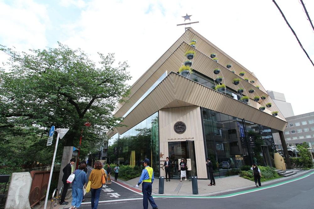 星巴克臻選旗艦店/中目黑/東京/日本/隈研吾