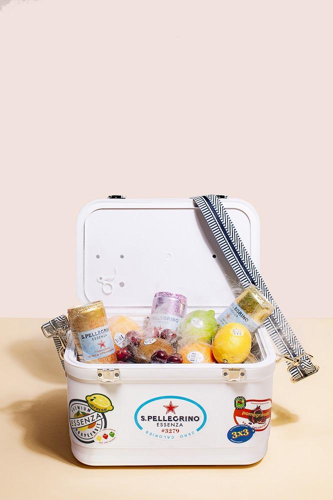 S.Pellegrino/Essenza 零卡香氛氣泡飲/聖沛黎洛訂製小冰箱