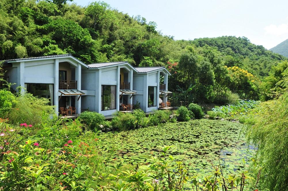 後湖水月渡假別墅/生態池/花蓮