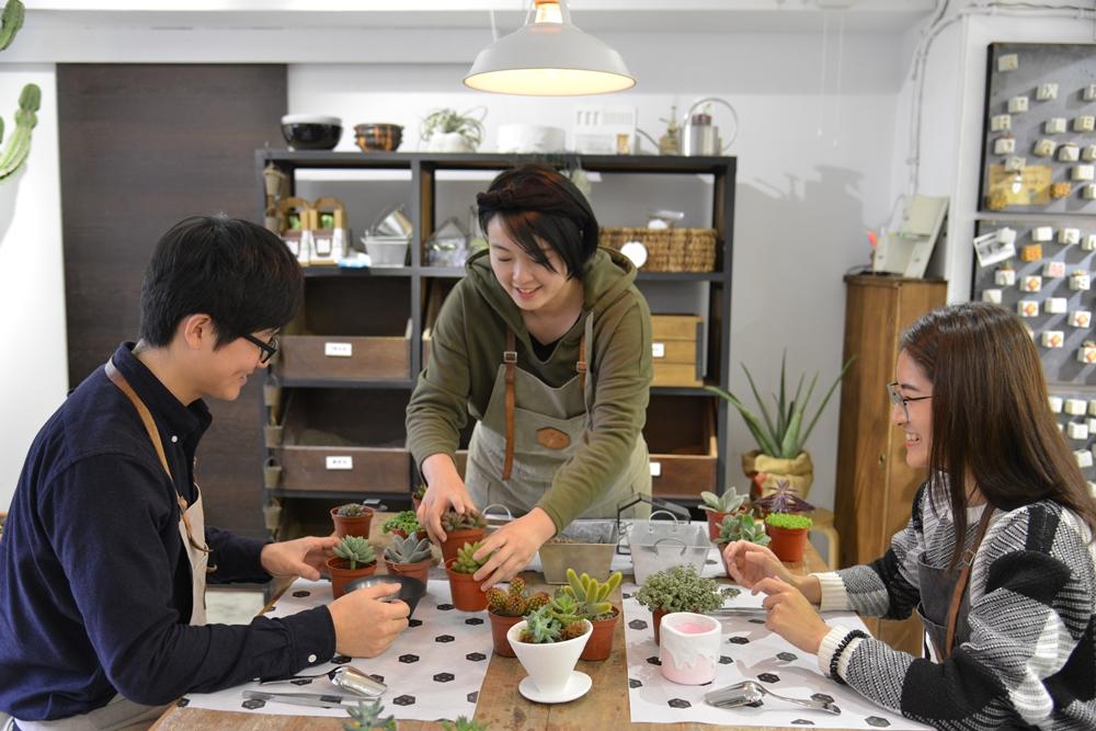 有肉Succlent&Gift/大安/台北