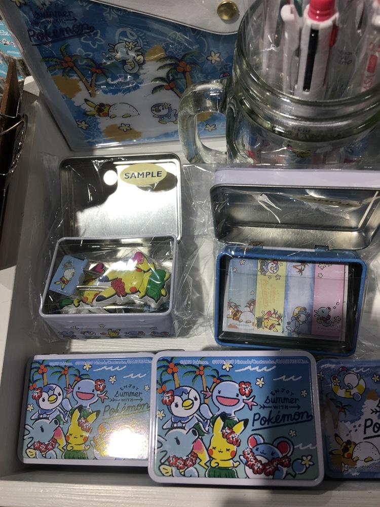 IT'S DEMO/寶可夢聯名彩妝文具/日本