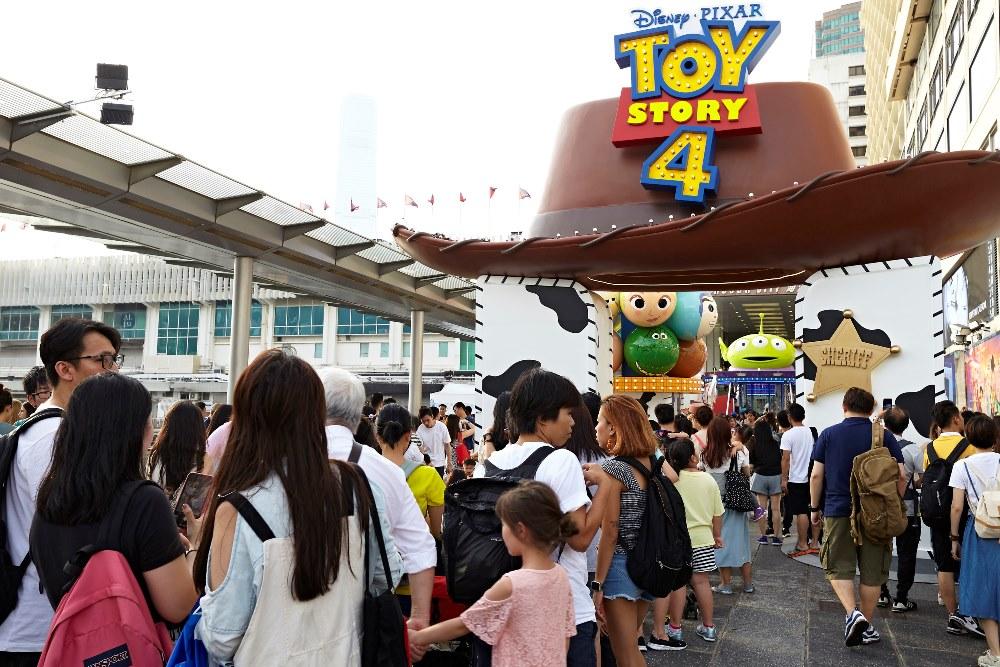 2019香港海港城玩具總動員4嘉年華/維多利亞港