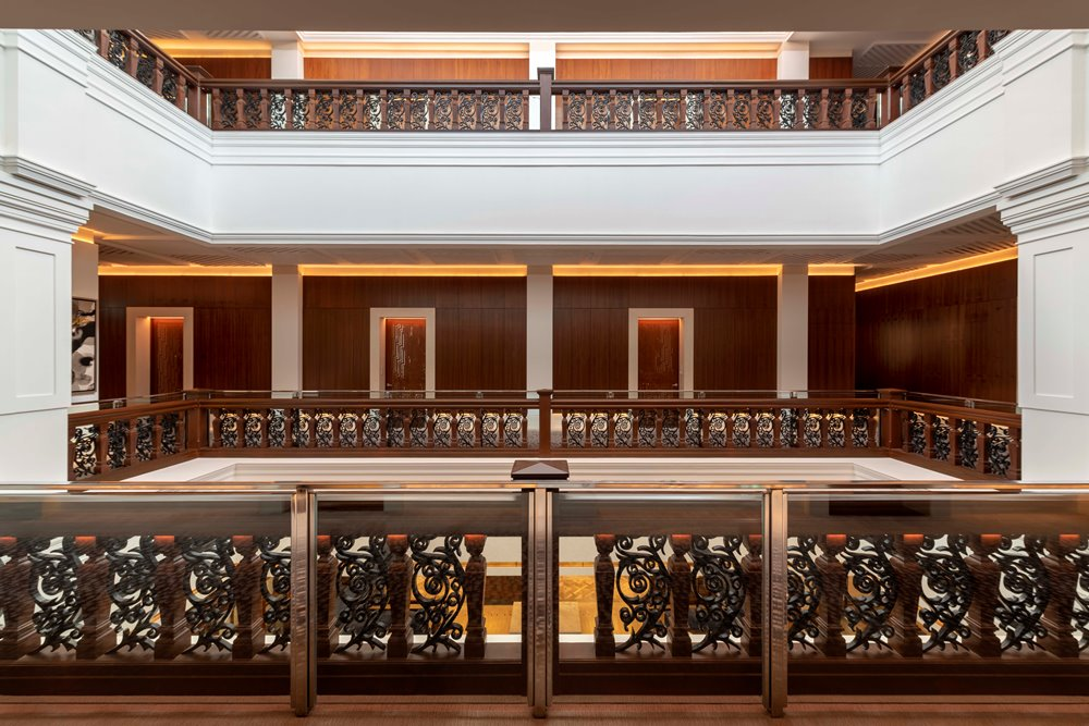 The Capitol Kempinski Hotel Singapore/新加坡/走廊