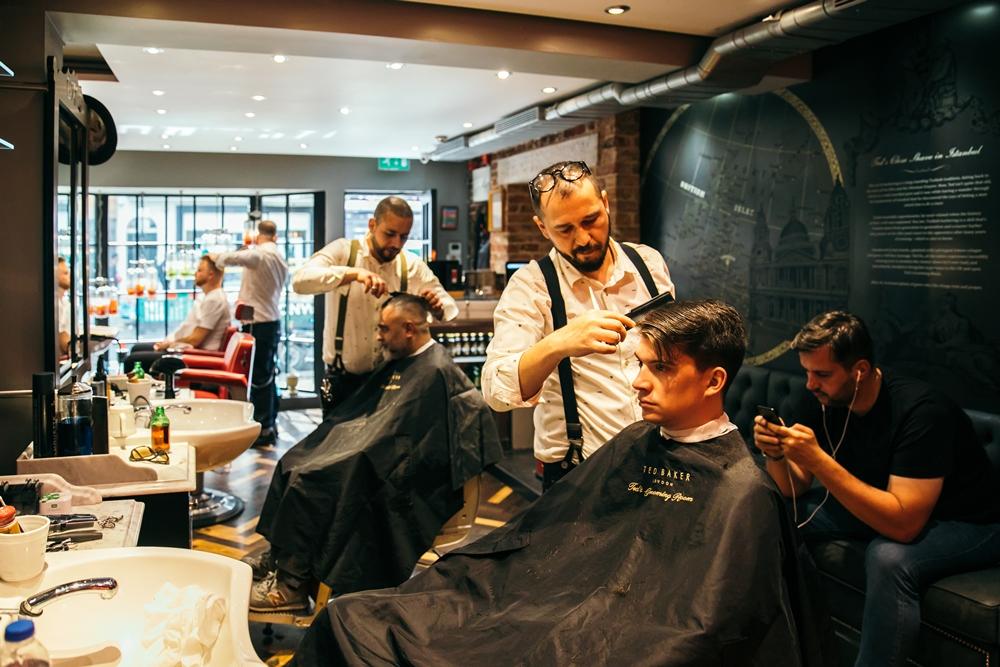 Ted's Grooming Room/男士理髮/男士修容/英國/英倫紳士