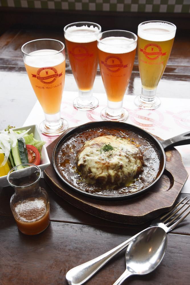 門司港地啤酒工房/門司/北九州/日本/美食/焗烤咖哩飯/精釀啤酒
