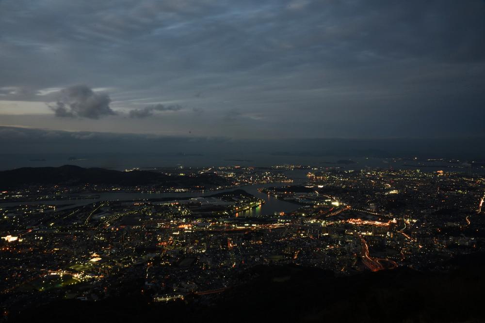 皿倉山/北九州/日本/旅遊/日本新三大夜景/打卡