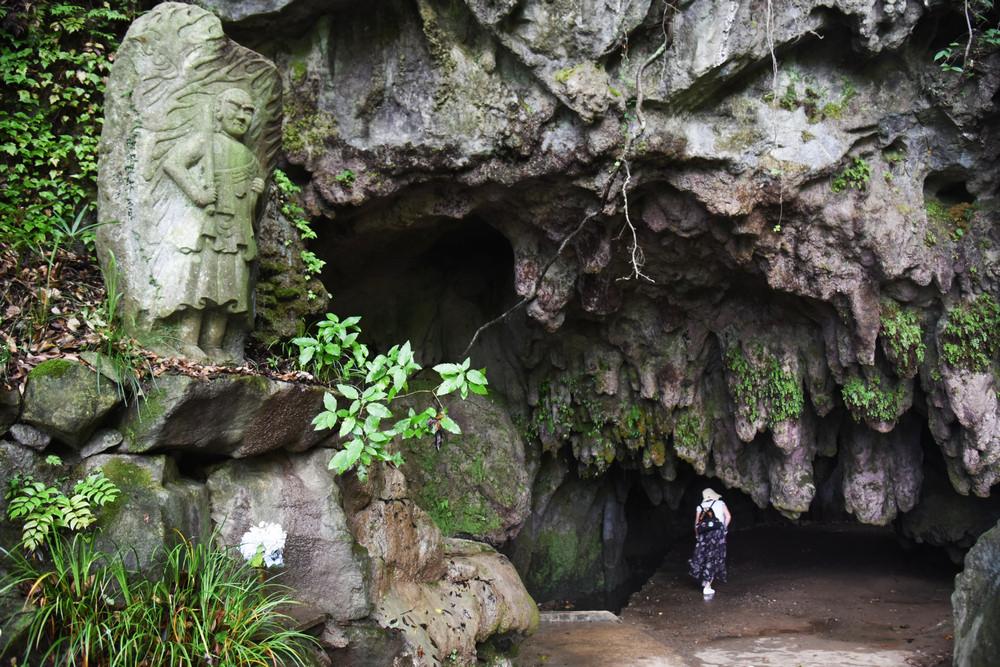 千佛鐘乳洞/北九州/日本/旅遊/喀斯特地形/石灰岩