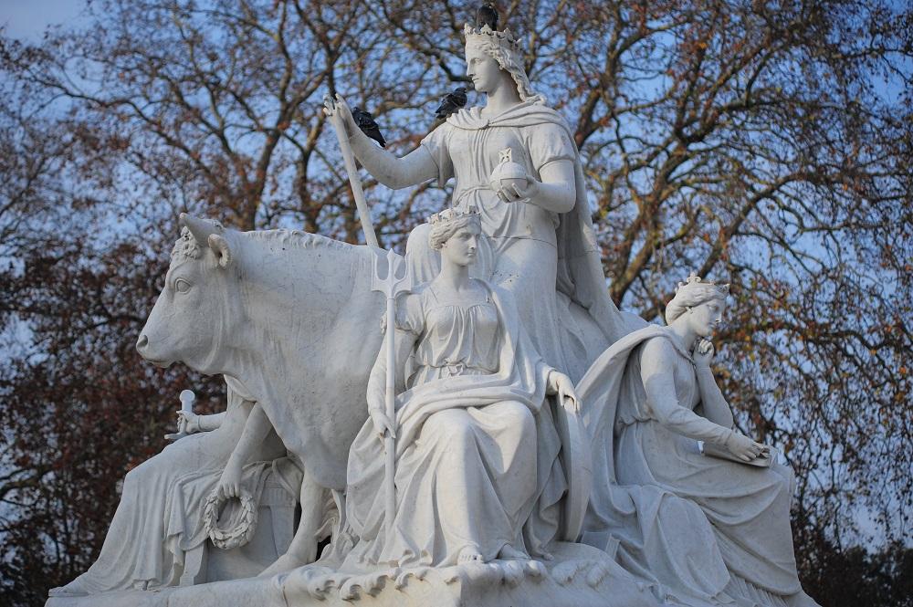 阿爾伯特紀念亭/倫敦/英國/歐洲/維多利亞女王