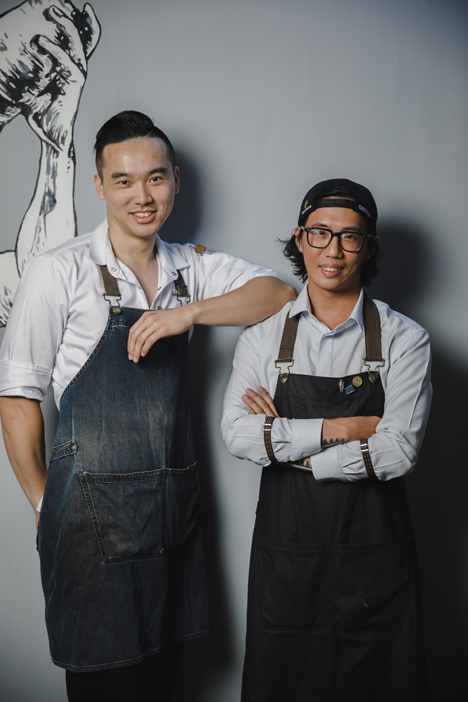 VG The Seafood Bar/台北美食/台北/信義安和/海鮮吧/主廚黃品翔/調酒師黃嵩雲