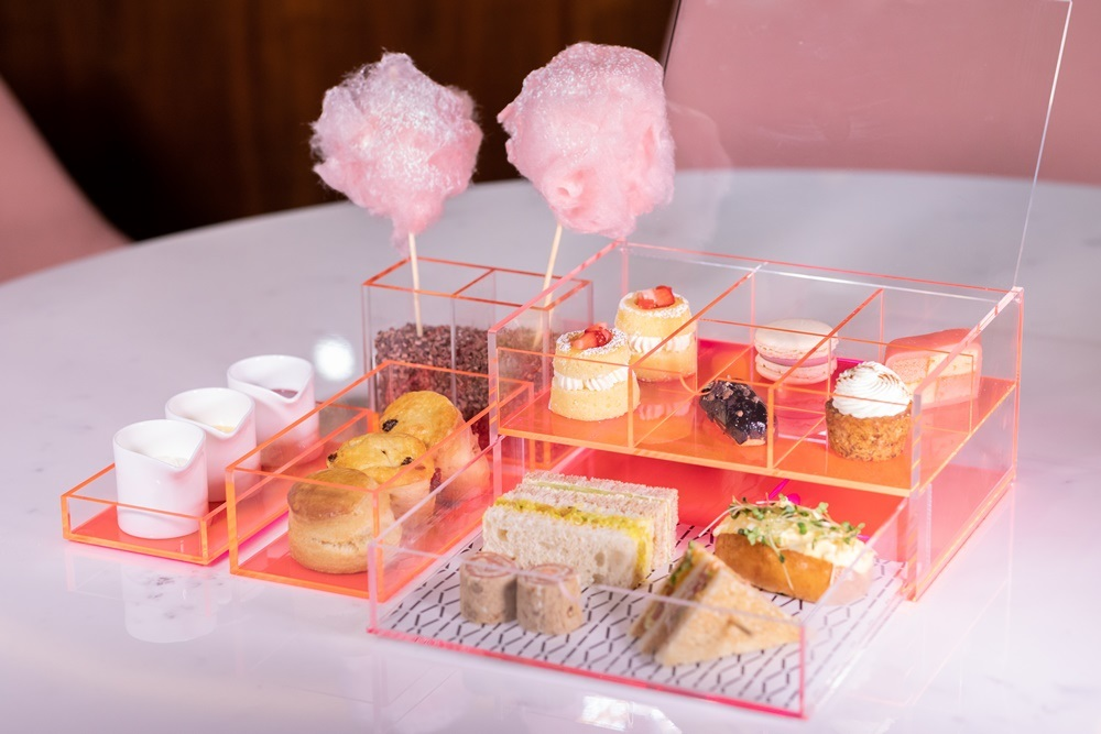 VIVI/粉紅色/倫敦/英國/Centre Point/倫敦美食/下午茶套餐
