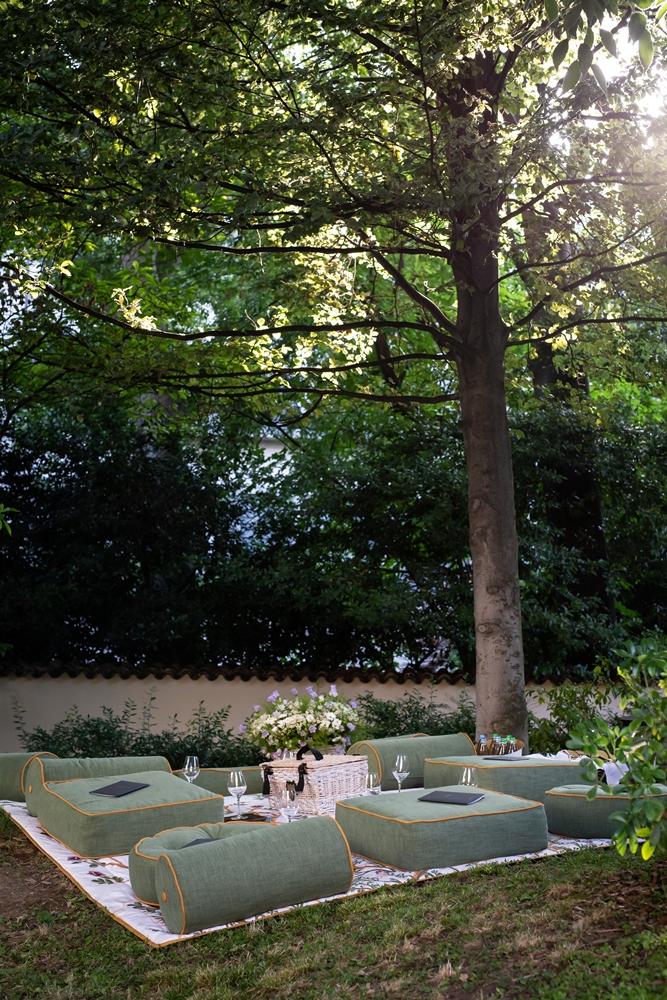 BVLGARI HOTEL/米蘭/義大利/野餐/花園 II Giardino