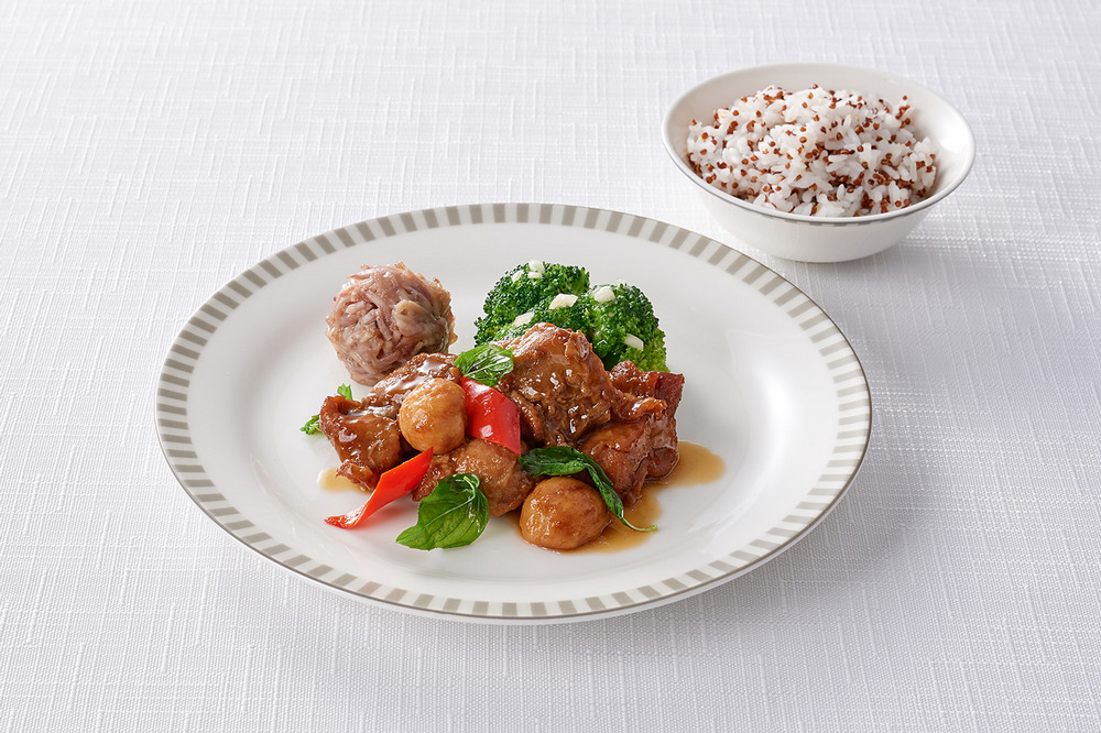 三杯雞腿/食全味美秋季套餐/米香台菜/新加坡航空/商務艙飛機餐