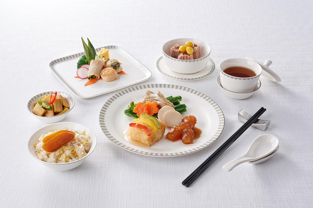 食全味美冬季套餐/米香台菜/新加坡航空/商務艙飛機餐