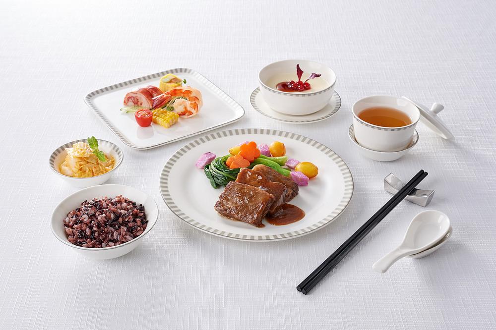 食全味美春季套餐/米香台菜/新加坡航空/商務艙飛機餐